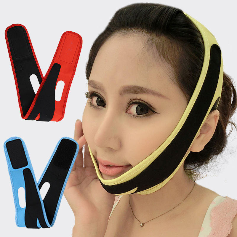 Cn Herb Thin Face Mask Face Ascend Sleep Thin Face Bandage Little Tool Thin Face Artifact Double Chin V in Massage Relaxation from Beauty Health