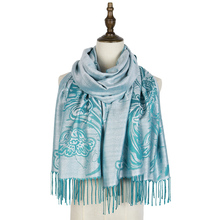 pashminas para mujer scarf rayon tippet fashion ladies women brand luxury silk cotton shawl stole floral viscose
