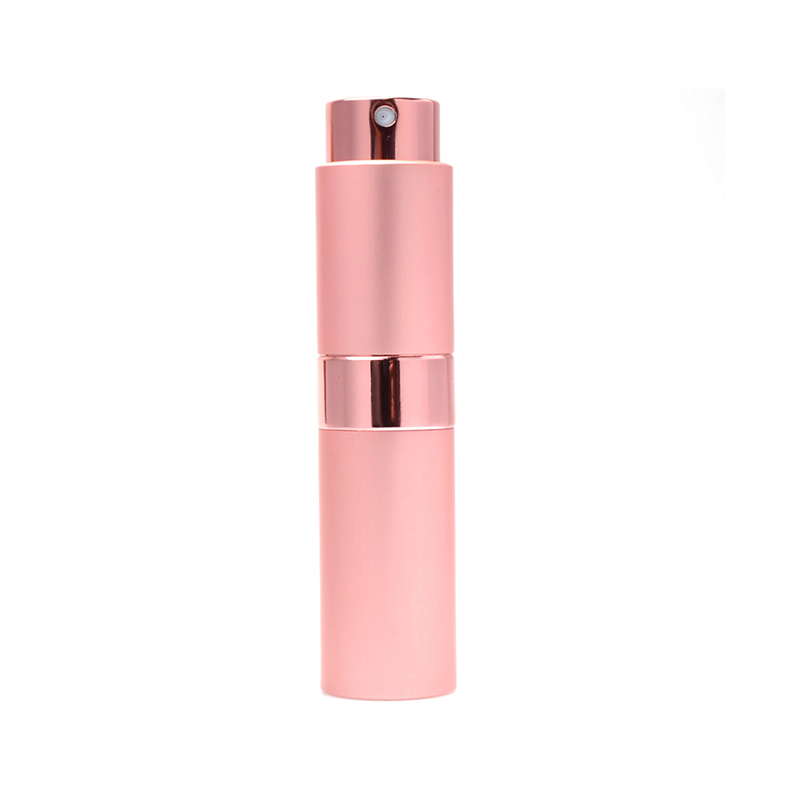 15ml Travel Perfume Bottle Atomizer 7 Colors Parfum Bottles For Spray Scent Pump Case cosmetic containers Portable Mini in Refillable Bottles from Beauty Health