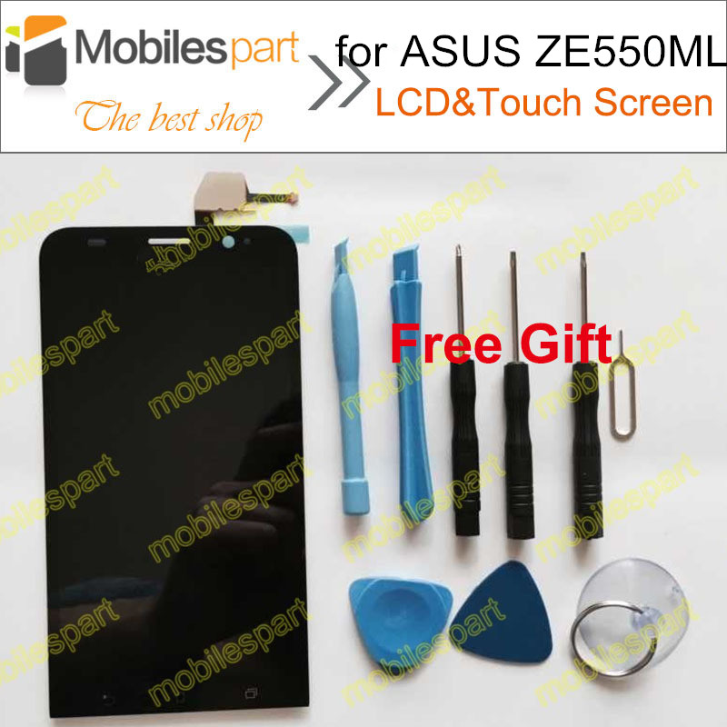 LCD Display +Touch Screen High Quality Assembly Replacement LCD Screen for ASUS Zenfone 2 ZE550ML 5.5inch