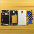 White Mobile Phone Replacement Full Housing Cover Case Middle Frame Cell Phone  For Samsung Galaxy Note3 N9005 LTE +Tools