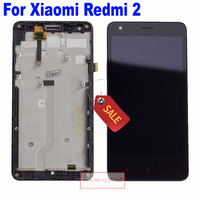 ON Sale 4 7 Full LCD Display Touch Screen Digitizer Assembly With Frame For Xiaomi Redmi