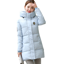New 2016 Coats & Jackets Hooded Winter Jacket Women Padded Cotton Long Winter coat Women Clothing