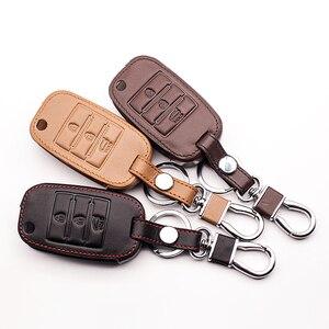 Image 5 - חדש עיצוב עור מפתח מקרה מקלדת כיסוי עבור קאיה ריו QL Sportage Ceed Cerato סורנטו K2 K3 K4 K5 סנפיר מפתח שרשרת רכב מפתח מקרה