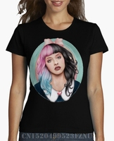 Spring Summer Promotion Women S T Shirt Melanie Martinez Short Character Cotton Design High Quality
