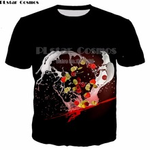 PLstar Cosmos 2018 Summer Fresh Fruit 3d Print T shirt Mens Casual Tees Orange Pineapple Printed Men O-neck Tee Tops