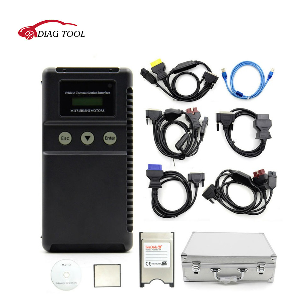 High quality Professional for Mitsubishi mut3 tester for Car and Truck Diagnostic Tool for mitsubishi mut iii with Cf crad Mut-3