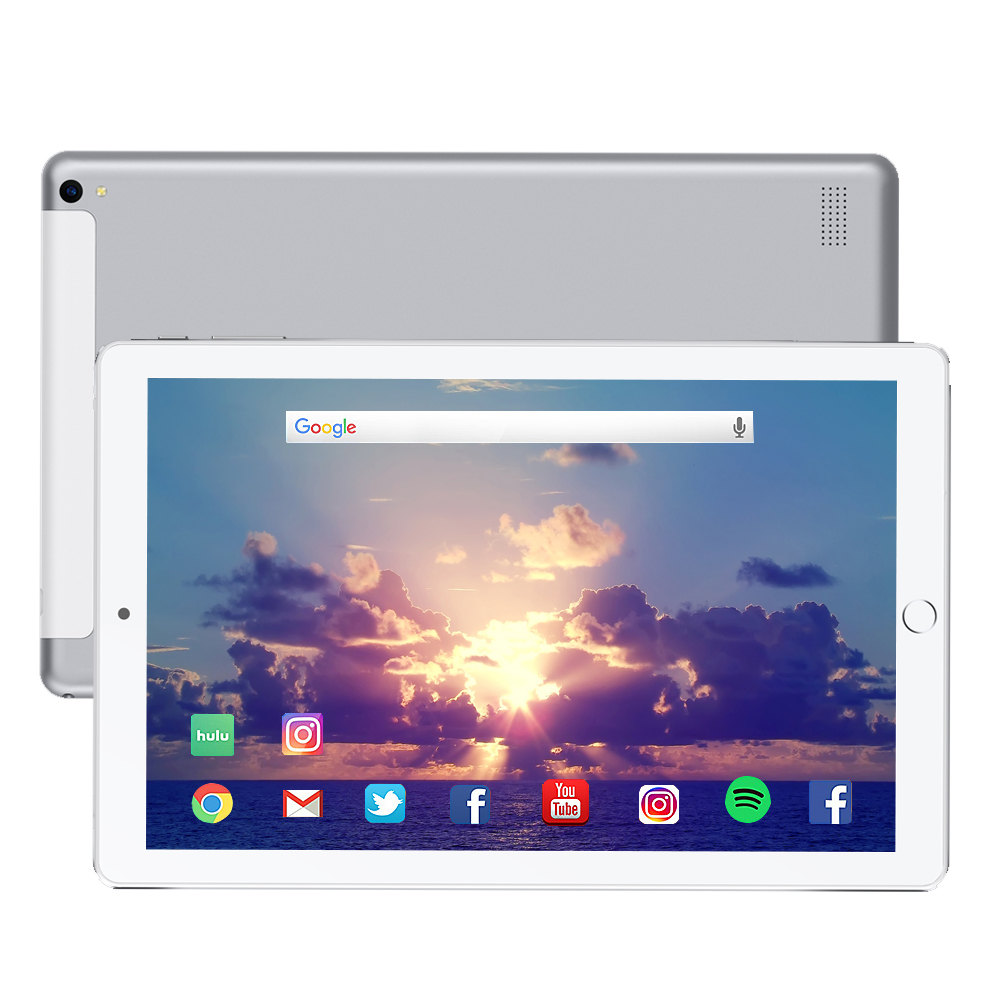 Free Shipping 10.1 Inch Tablet Pc Quad Core 2019  Android Tablet 3GB RAM 32GB ROM IPS Dual SIM Phone Call Tab Phone Pc Tablets