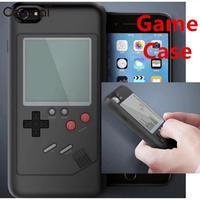 Cewaal 2018 Retro Tetris protección Conchas polvo silicona skins protector caso de la contraportada para el iPhone 6/6 s/ 7/8 más