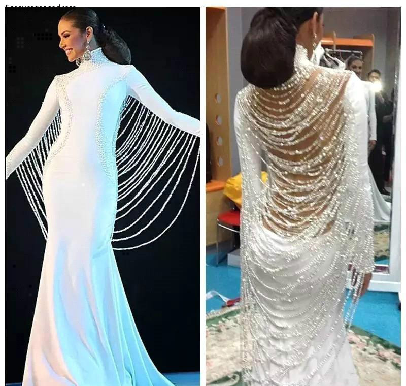 2019 Long Sleeves Saudi Arabic Dubai Evening Dress Muslim Middle East Holiday Women Wear Formal Party Prom Gown Custom Made Plus