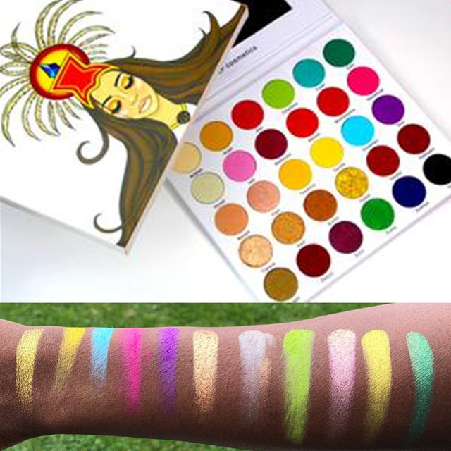 Kailier Glf Cosmetics Eye Shadow Palette Princesa Azteca 30 Color