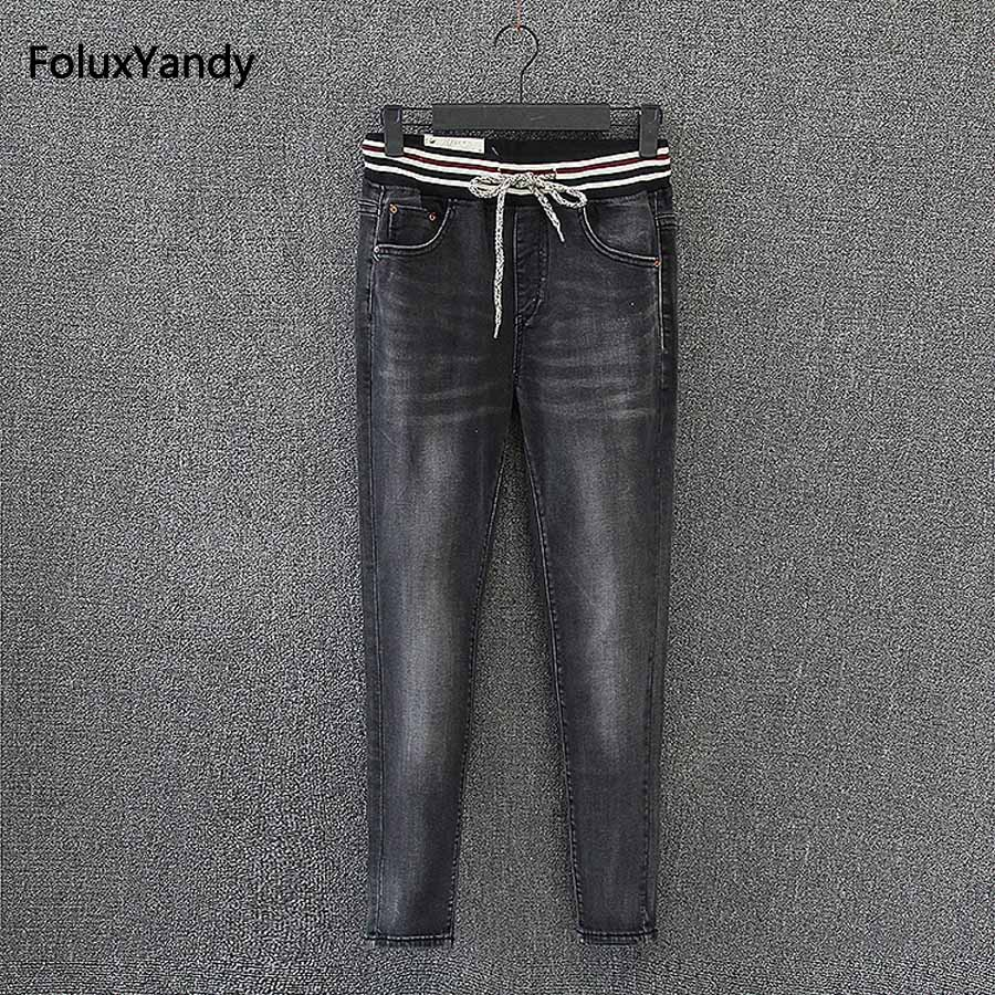 Women Jeans New Plus Size Denim Jeans Female Trosuers KK2708