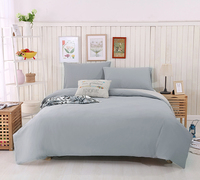 Soft Cotton Double color Duvet Cover only Hotel Quality & Hypoallergenic with Button Closure Full/Queen 200x230cm