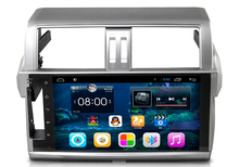 10.2inch Android 6.0 Car Dvd Gps Navi Audio for TOYOTA 2014 PRADO HD1024*600 OBD 1GB DR 8GB 3g WIFI DVR support, quad core