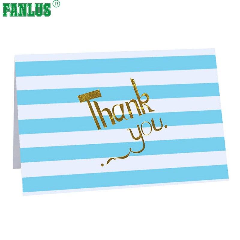 FANLUS 4inch x 6inch tackar dig korten Bulk tackar dig kortet Ställt - Semester och fester