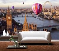 Modern 3D Photo Wallpaper Custom Retro London Street Mural Wallpapers European Living Room Backdrop Wall Hot