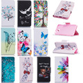 Case For coque Huawei Y5 II Y5 2 Case Cover for coque Huawei Y5 II Y5 2 Butterfly Protective Mobile phone Case Card Holder