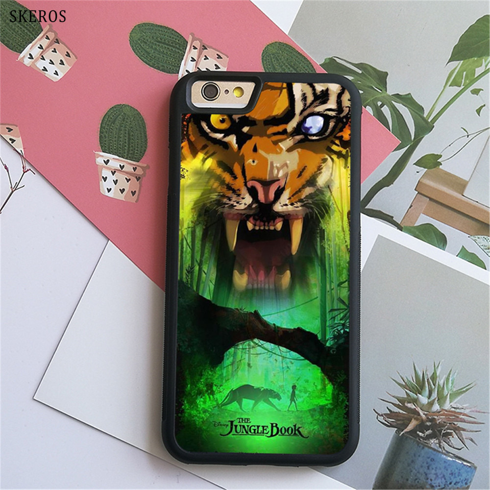SKEROS The Jungle Book 3 (3) phone case for iphone X 4 4s 5 5s 6 6s 7 8 6 plus 6s plus 7 & 8 plus #B742