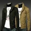 FWF2016 otoño nuevo cuello de Algodón de moda abrigo de cultivan su moralidad ocio delgada de La chaqueta