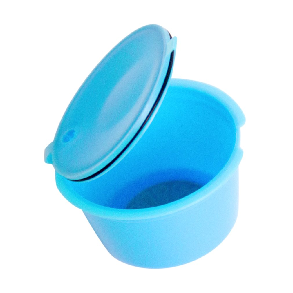 Small Size Coffee Filter Baskets Reusable Empty Coffee Capsule Plastic Refillable Baskets Espresso Filter Cup Capsule Cup