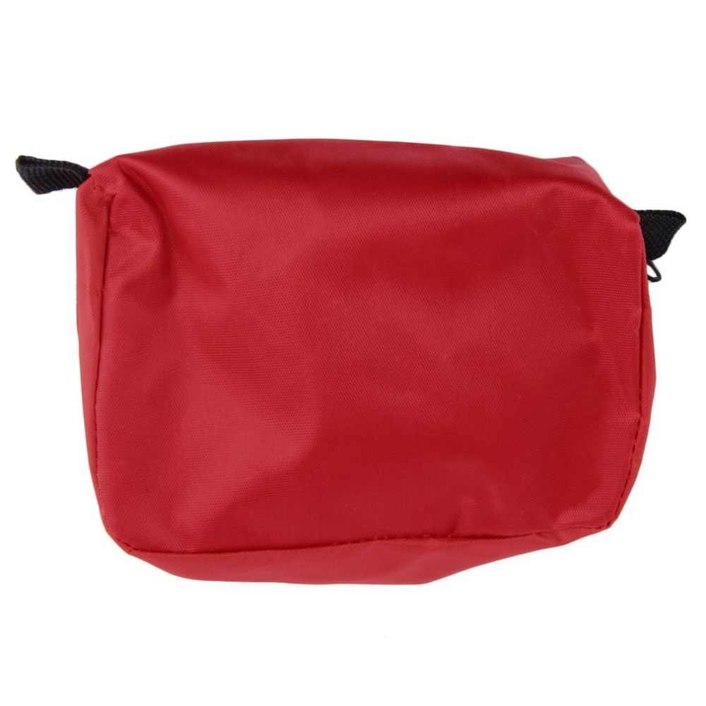 First Aid Kit 0.7L Red PVC Outdoors Camping Emergency Survival Empty Bandage Drug Waterproof Storage only bags