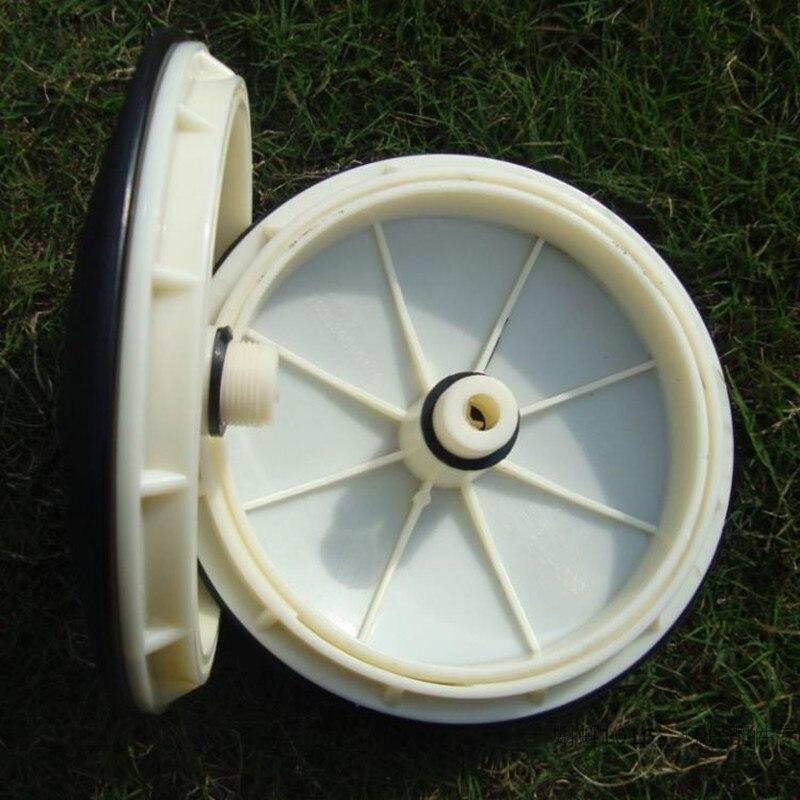 Pièces en caoutchouc microporeuses de diffuseur d'air de traitement des eaux usées de panneau d'aération de diaphragme d'epdm taille: 260mm efficace
