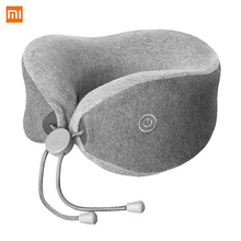 LF Neck U Shape Bolster Pil lows Neck Relax Muscle Therapy Massager Sleep for office Car Home Travel Cover2