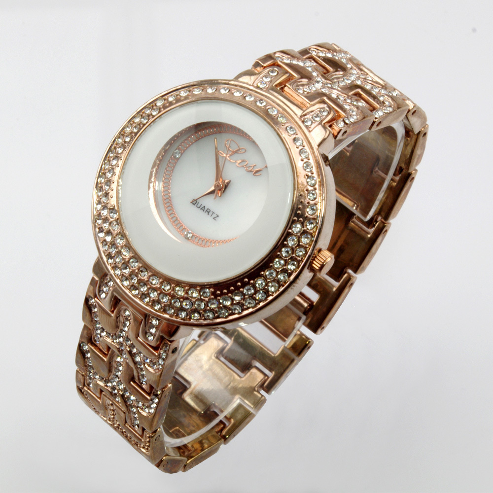 Hot New Arrival Wrist Watch For Women Female Girls Fashion Casual Quality Il300ef Integrated Circuit Chip Linear Optocoupler High Gain Style Simplicity Fully Crystal Quartz Analog Lady