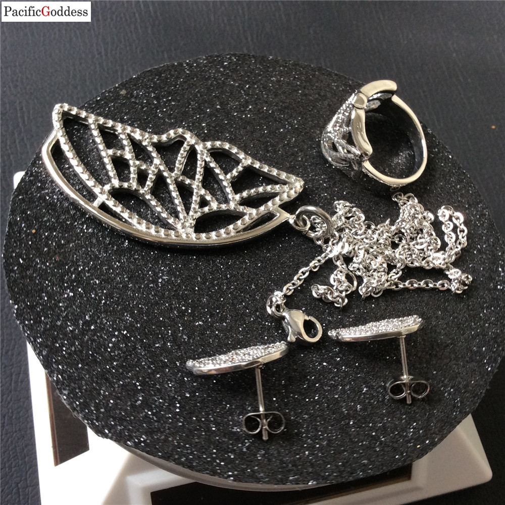 butterfly jewelry set stainless steel wedding elegant jewelry for best gift in Bridal Jewelry Sets from Jewelry Accessories