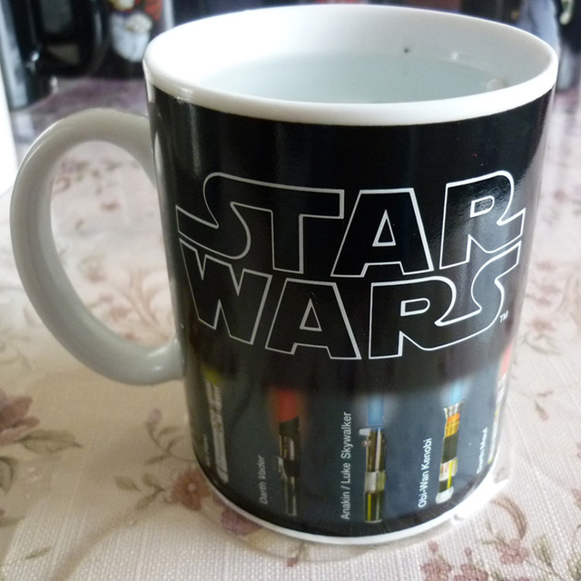Star Wars Lightsaber Heat Mug