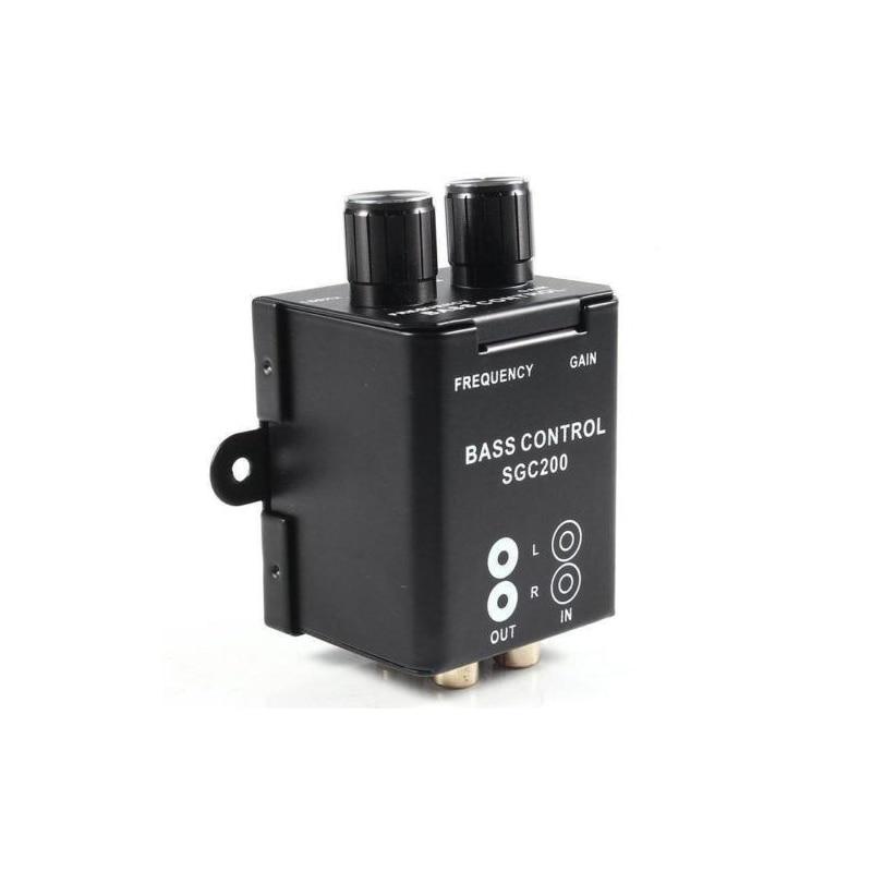Auto Car Remote Amplifier Subwoofer Car Audio Equalizer Crossover Bass Controller Bass Equalizer Controller RCA Amplificador цена