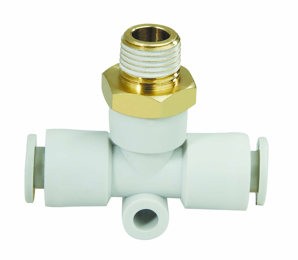 Free shipping quality pneumatic fittings parts male thread