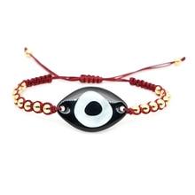 Go2boho Evil Eye Bracelet Women Perles MIYUKI Bracelets Lucky Jewelry Handmade High Quality Gold Plate of Japan Plastic Beads