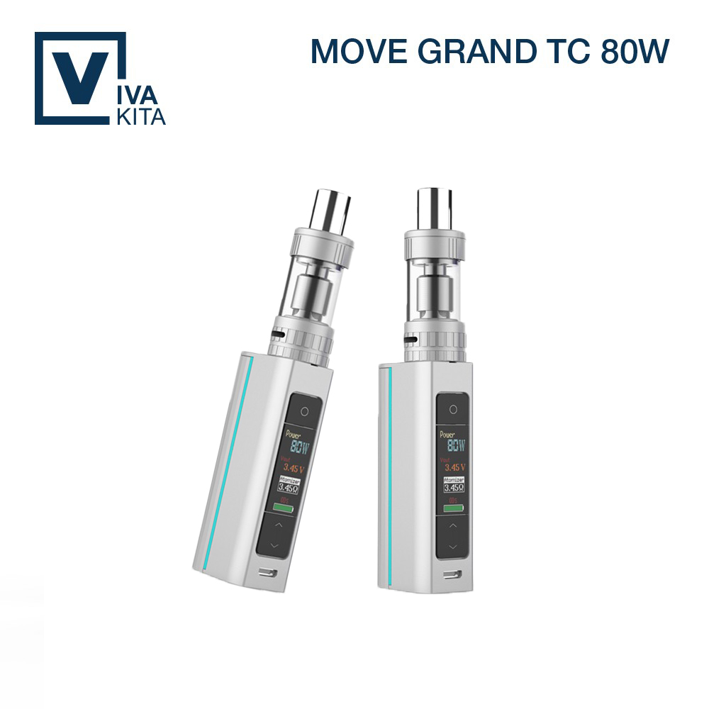 ФОТО Ceramic Coil 3.0ml Vivakita Move Grand TC 80W Starter Kit With temperature control