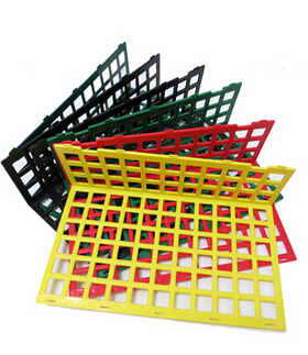 Splicing PP Free Combination Guard Rail Back Plate Division Plate Supermarket Fruit And Vegetable Shelf Guard Bar Display Rack