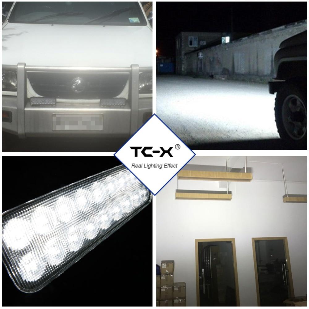 TC-X 7 ιντσών 18 x 3W φως LED φώτα Ultra - Φώτα αυτοκινήτων - Φωτογραφία 6