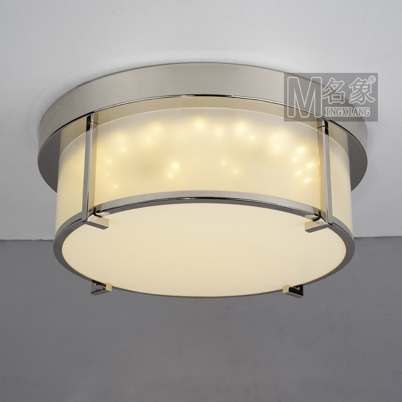 Modern Home Stainless Steel Edge Acrylic LED Bedroom