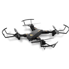 Rc Plane Drone TIANQU XS809W Quadcopter RC Plane Drones With HD Camera 0.3/2MP WiFi Camera Drone RTF Remote Control Plane(China)
