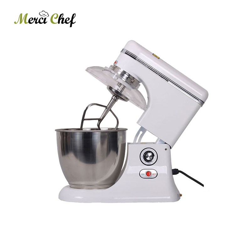 7.5L Raisable head electric large industrial food mixer dough mixer egg beater Household and Commercial Using Food Machine bear mixer blenders electric egg whisk both handheld and table type dough mixer and noodle machine egg beater