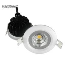 Waterproof LED Downlight IP65 Spot Light 15W/12W Super Bright AC85-265V Recessed Ceiling Lamp