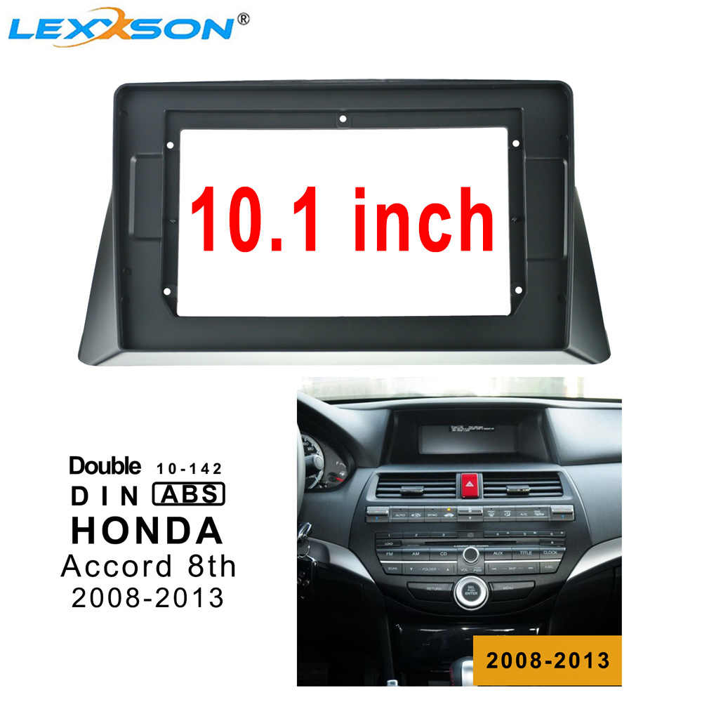 10.1inch 2din Auto Radio Fascia voor HONDA ACCORD 8th 2008-2013 Dubbel Din Fascia Audio Montage Adapter Facia panel frame Kits