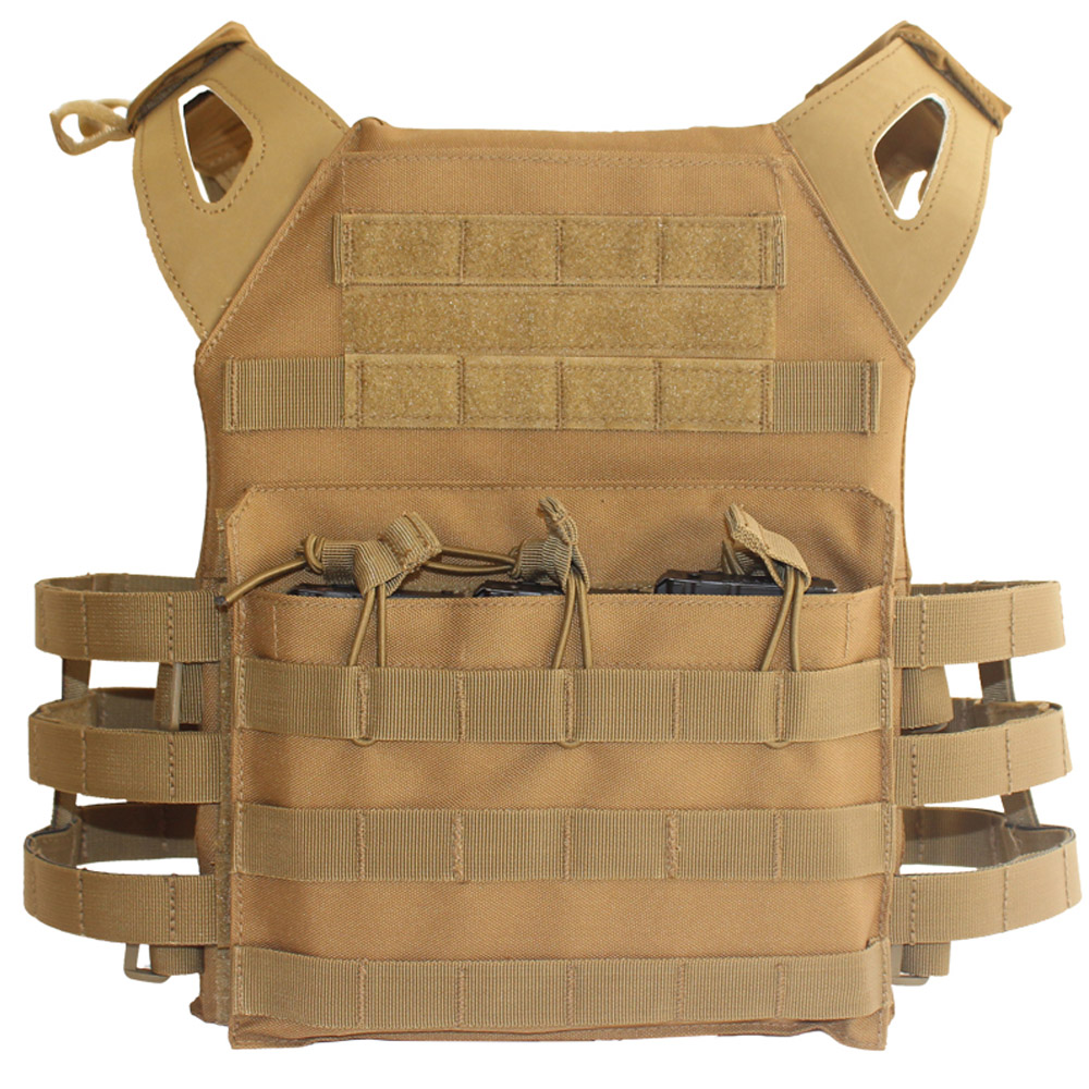 Military Tactical Vest Body Armor Plate Carrier Loading Bear Equipment Magazine Chest Rig Airsoft Paintball Gear