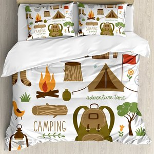 Duvet Cover Set Camping Equipm