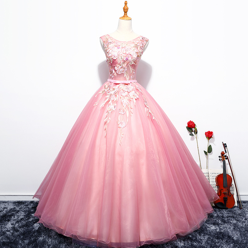 Quinceanera Dresses 2019 Tulle Appliques Vestidos De 15 Anos Sweet 16 Dresses Debutante Gowns Dress For 15 Years
