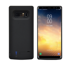 6500mAh Portable Backup Power Bank Case For Samsung Galaxy Note 8 External