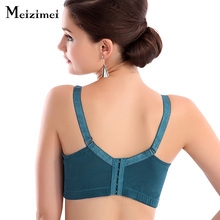 Meizimei 2017 bras for women embroidery large bras sizes ladies bh push up bralete wide strap lace bralette crop top brassiere C