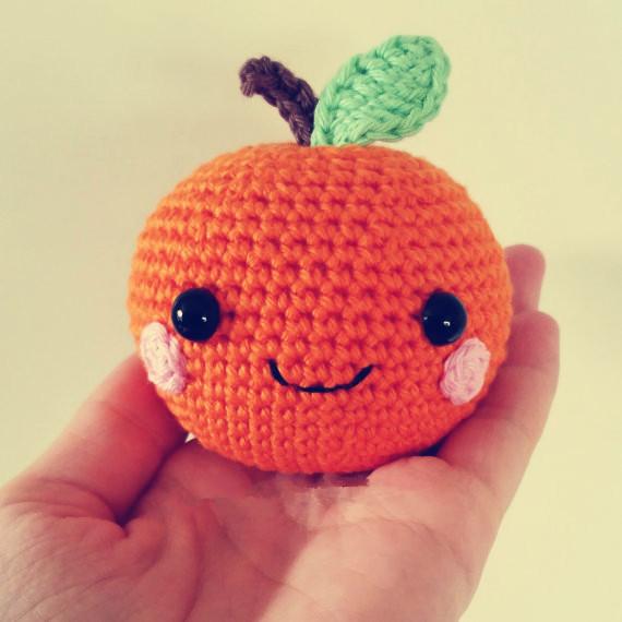 Crochet maçã, Sala de casa decrotive, Presente para amigo, Foto uso
