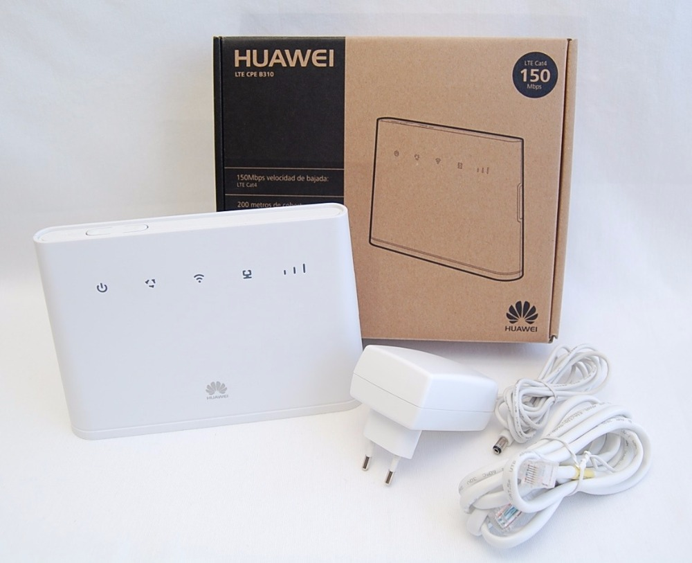 (+2pcs antenna)UNLOCKED Huawei B310s-518 4G LTE CPE Router