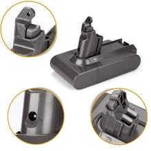 HOT 3PCS/LOT 21.6V 3500mAh Li-ion Replacement Battery For Dyson V6 Cordless Handheld Vacuum Cleaner DC62 DC58 DC59