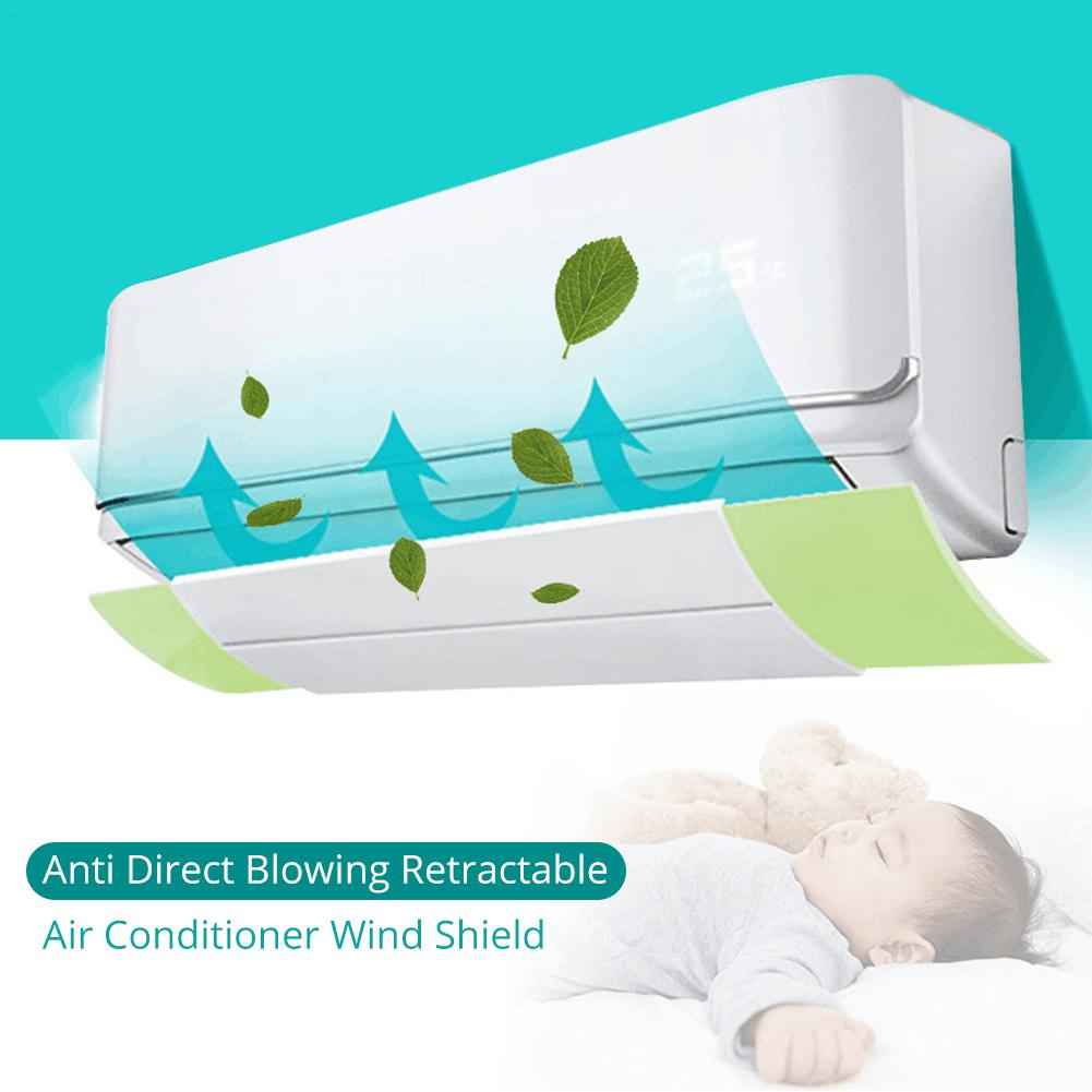 Anti Direct Blowing Retractable Air Conditioner Wind Shield Cold Air Conditioner Wind Deflector Baffle